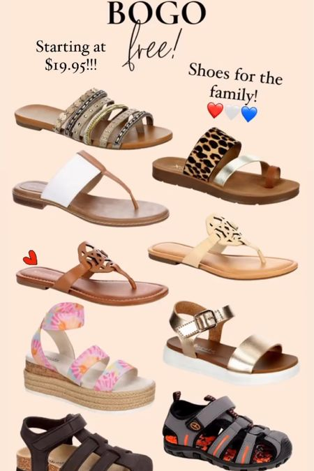 BOGO free sandals for the family! They carry the CUTEST styles and on mega sale!!!   http://liketk.it/3hrDd #liketkit @liketoknow.it #LTKsalealert #LTKfamily #LTKshoecrush