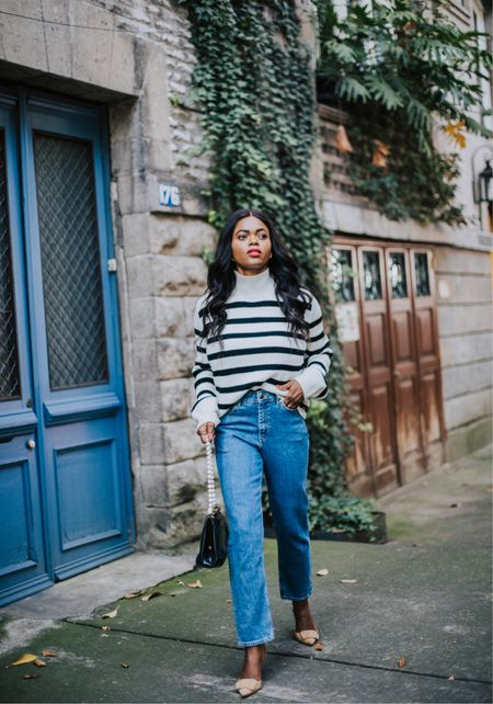 The classic sailor stripe sweater you need this fall… Now on the blog : https://www.dadouchic.com/2021/10/the-classic-sailor-stripe-sweater-for.html?m=1     #LTKstyletip