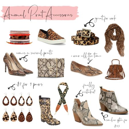 Loving animal print this fall but sometimes you just want an little bit of WILD so grabbing an accessory can be a great option! Check out my picks for animal print http://liketk.it/2FeGG #liketkit @liketoknow.it #LTKshoecrush #LTKstyletip #LTKunder50 #LTKunder100