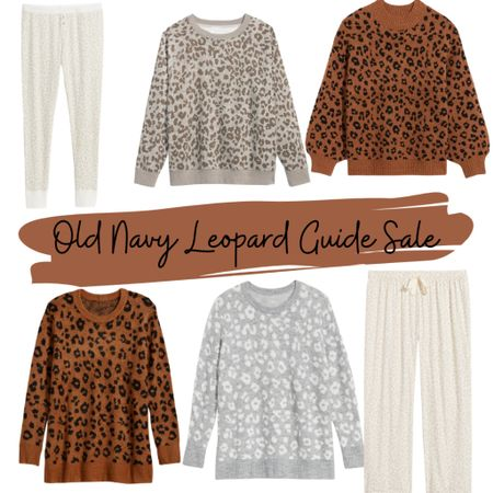 Calling all leopard fans! Old Navy is having a huge 50% off everything sale! I found all my favorite leopard things! 🤎🤍 If you know someone in your family loves this pattern, you can't go wrong with a leopard sweater @liketoknow.it.family ! http://liketk.it/32fan #liketkit @liketoknow.it #LTKgiftspo #LTKsalealert #LTKcurves