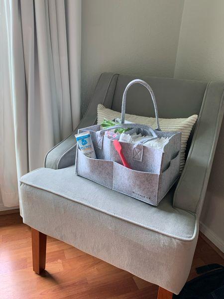 $10 diaper caddy from Amazon   #LTKbaby