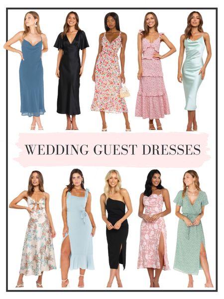 Rounding up a handful of wedding guest dresses - linking our favs here   #LTKunder50 #LTKwedding #LTKunder100