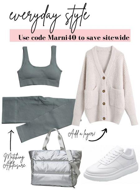 Causal street style! Use code Marni40 to save!   #LTKstyletip #LTKfit #LTKSale