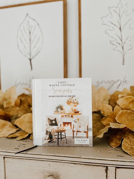 My new book, Cozy White Cottage Seasons comes out later this fall! I am so excited for all of you to be able to open it up and get inspiration for every season!  #LTKhome #LTKSeasonal