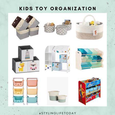 Toy organization. Playroom. Toys. Organizers. Storage solutions. Kids  #LTKhome #LTKkids #LTKfamily