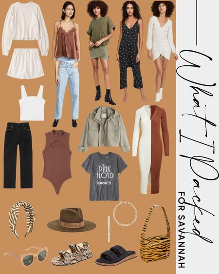 What I Packed for Savannah / Fall Outfit Inspiration, Fall Travel, Fall Fashion  #LTKstyletip #LTKSeasonal #LTKtravel