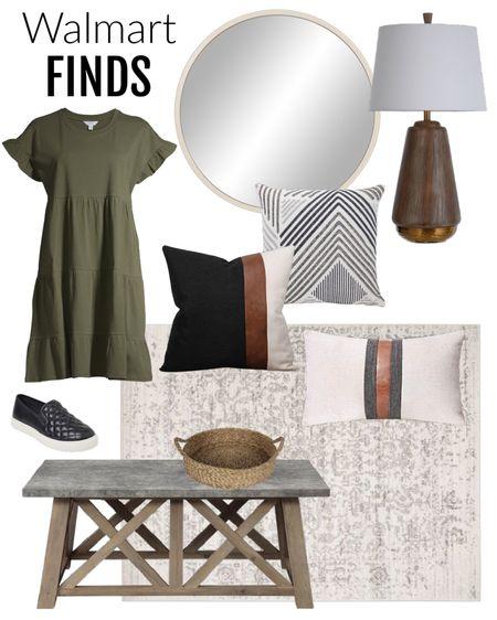 My idea of fall. Easy tshirt dress, throw pillows, home decorating accessories from Walmart. Walmart home, Walmart finds   #LTKsalealert #LTKhome #LTKSeasonal