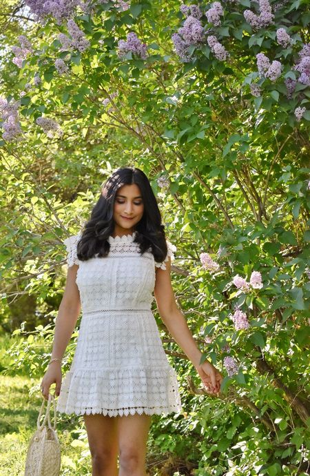 If you are looking for a wedding guest dress then this might be it. it is only for $69. I am wearing size xs and I am petite. #weddingoutfit #weddingdresses #summerdress #whitedress   #LTKwedding #LTKstyletip #LTKSeasonal