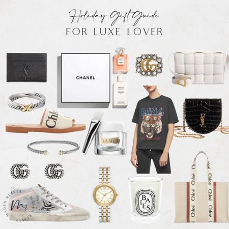 Holiday Gift Guide for Luxe Lover holiday gifts for her holiday gift ideas for her holiday gifts for mom holiday gifts for sister holiday gifts for mom http://liketk.it/3pI3b @liketoknow.it #liketkit   #LTKGiftGuide