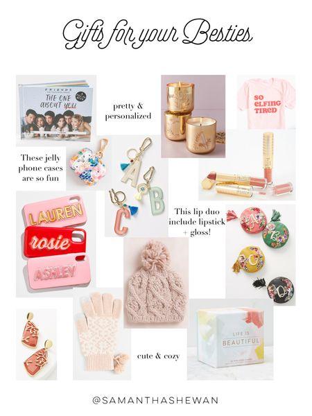 Gifts for your Besties, friend gift ideas, stocking stuffers http://liketk.it/328dT #liketkit @liketoknow.it #LTKgiftspo #LTKbeauty #LTKunder50