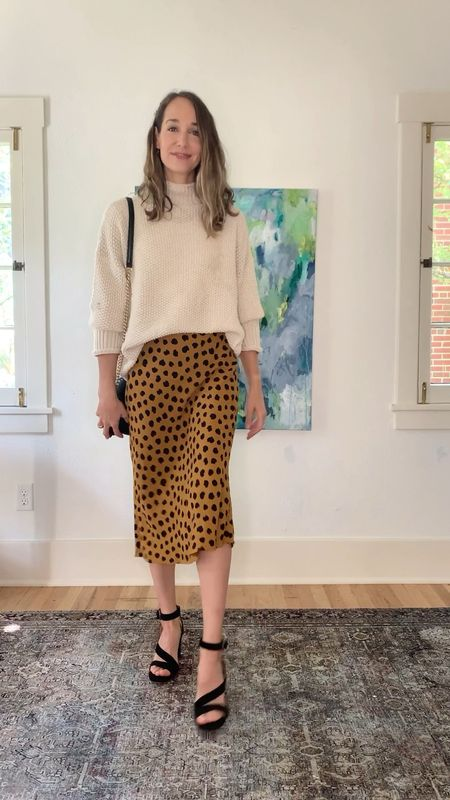 3 ways to wear a leopard skirt for summer into fall—which look is your favorite?!   #LTKstyletip #LTKunder50 #LTKSeasonal