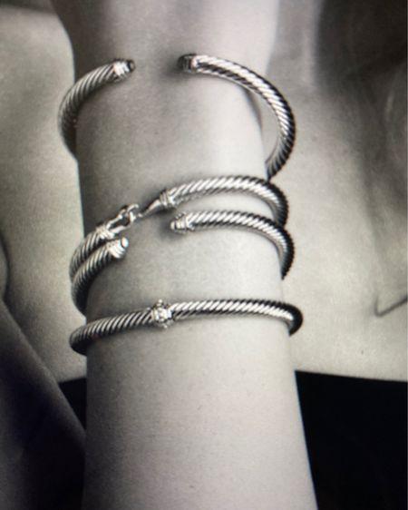 Love this cute David Yurman bracelet for presents for wife girlfriend for her! Like it in the black with the diamonds onyx http://liketk.it/32rX4 #liketkit @liketoknow.it #LTKgiftspo #StayHomeWithLTK #LTKwedding