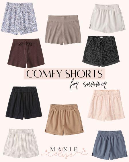 Comfy Shorts For Summer 🙌🏼  #comfyshorts #summerfashion #abercrombie #loungeshorts #abercrombieshorts #summershorts #linenshorts  #LTKSeasonal #LTKstyletip #LTKunder50