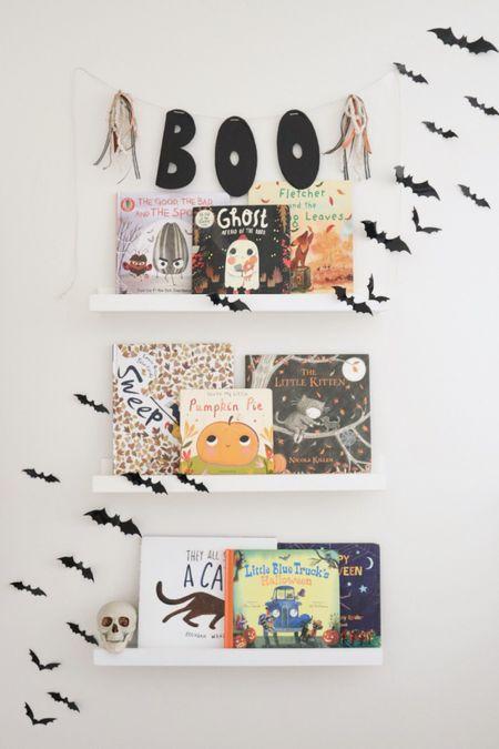Halloween bookshelves   #LTKSeasonal #LTKkids #LTKhome