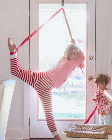 Another favorite Christmas gift - the stunt strap for flexibility for dance, cheerleading etc. http://liketk.it/34Ff6 #liketkit @liketoknow.it #LTKkids #LTKfamily #LTKsalealert