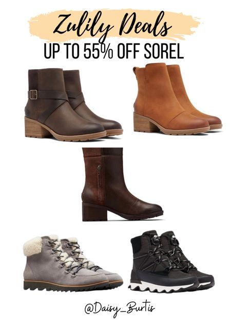 Up to 55% off Sorel Boots!!    #LTKshoecrush #LTKGiftGuide #LTKsalealert
