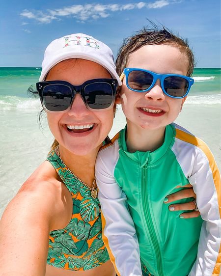Swimsuits for the whole fam! Our Tampa beach vacation has been nothing short of a BLAST! I linked several of our beach bag essentials here including the cutest bikinis and matching sets for your family. Code: MLWL15 for 15% off swimzip! ☀️☀️☀️ Swimsuit fits TTS, wearing size small.    http://liketk.it/3fshu #liketkit @liketoknow.it #LTKsalealert #LTKfamily #LTKswim