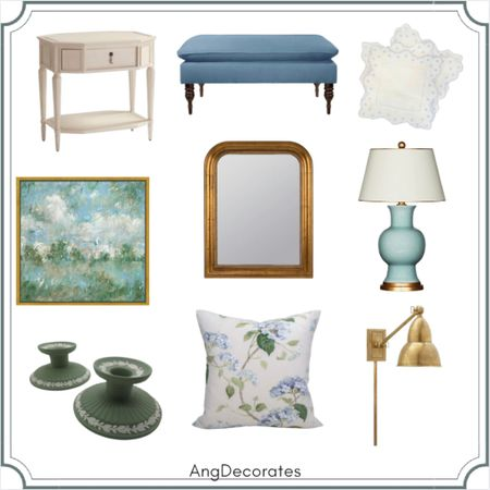 Favorite Blue and Green home finds  #LTKhome