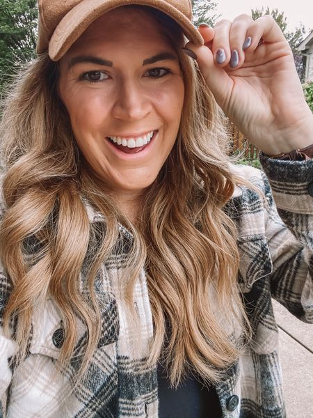 """Happy 1st Day of fall! What's your fall favorites you look forward too? Mine - decorating the house and lighting all my fall candles and taking the boys to @tuttles 🎃  This year I've added """"buying shackets"""" to my faves list too 🤣 I linked some of my favorites I've added to my closet this season! Also @dottie has some amazing ones right now. (Use code SHELLY20 for 20% off!)  . .   #LTKstyletip #LTKSeasonal"""