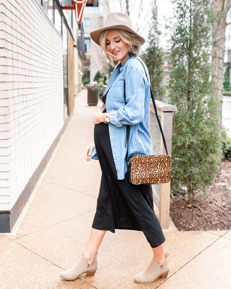Finally watching Dirty John on tv & it's soooooo good! I loved the podcast & highly recommend it if you are looking for a new one! \\ Love this casual look. The chambray top, midi dress & leopard print combo is perfect for the weekend 🙌🏼 Shop the details via the @liketoknow.it app >> http://liketk.it/2zquE #liketkit #LTKstyletip #LTKunder100 #LTKunder50 #LTKsalealert #LTKbump