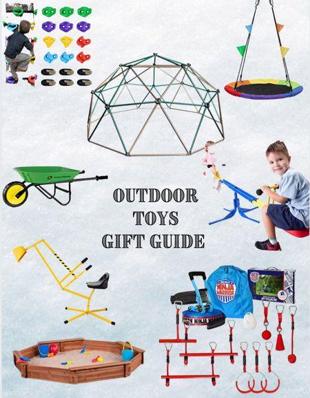 Outdoor Toy Gift Guide  #LTKHoliday #LTKkids #LTKGiftGuide