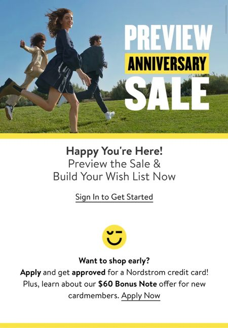 Want early access to shop the Nordstrom sale? Apply for the card and add to cart.   #LTKfit #LTKhome #LTKsalealert