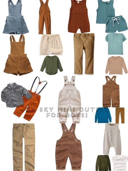 Boys and little boys are probably the easiest to dress but hard at the same time 🤣 bc we over think it! Here is what I prefer to see all the boys in! These colors and textures!   #LTKunder50 #LTKSpringSale #LTKkids