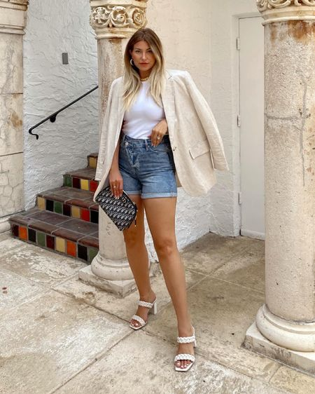 Blazer with shorts look 👀    http://liketk.it/3gjxy #liketkit @liketoknow.it