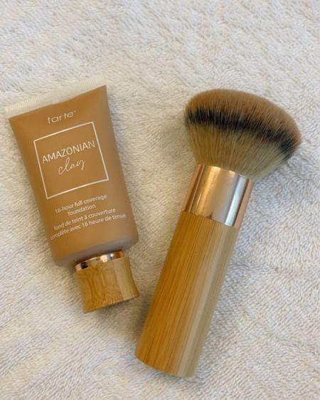 Foundation, make up, make up brush, tart cosmetics foundation brush, buffer brush, summer make up http://liketk.it/3i4gK #liketkit @liketoknow.it #LTKbeauty