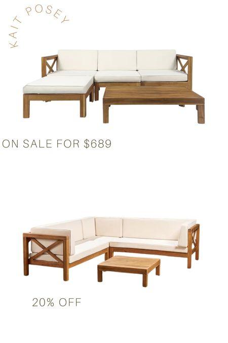 Outdoor patio furniture on sale!