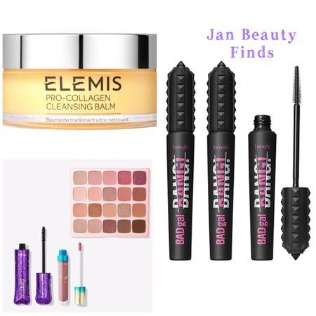 Beauty finds. Elemis Pro-Collagen Cleansing Balm. Benefit Cosmetics Badgal Mascara Trio. Tarte  Fresh-Pressed Bundle.   #LTKbeauty #LTKunder50 #LTKVDay