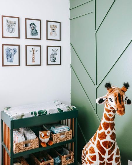 Sharing Mason and Cooper's shared brother bedroom today on the blog! Their safari themed room is full of fun decor and easy DIY projects. Shop their room decor here and check out the post for details on their room.   #LTKbaby #LTKkids #LTKhome