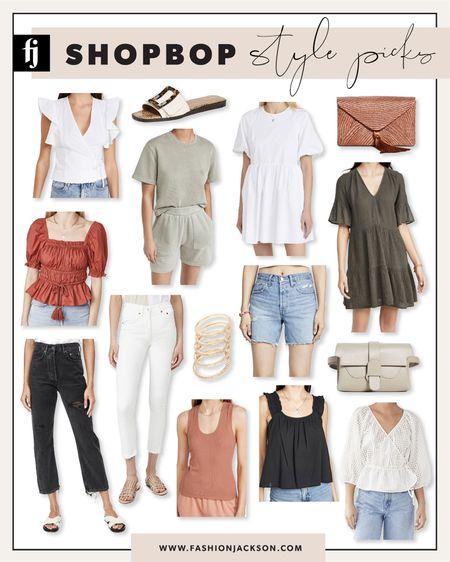Shopbop style picks for the perfect summer outfits! #summerdress #summerstyle #aninebing #whitedress #summertops #beachvacation #vacationoutfits #fashionjackson http://liketk.it/3ihgV #liketkit @liketoknow.it #LTKunder50 #LTKunder100 #LTKstyletip