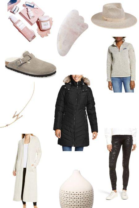 Wish List - Mountain Momma Picks #mountainmomma #mountainmama #wishlist #giftsforher #christmaslist #allthethings #makingprettychoices #herbivore #barefootdreams #spanx #anthro #birks #birkenstock #diffuser #guasha @liketoknow.it #liketkit http://liketk.it/30wMN