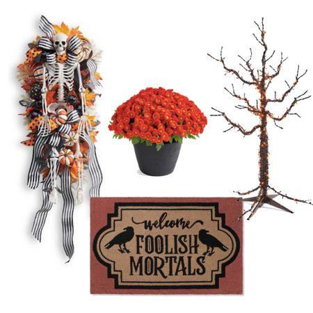 Halloween front porch inspiration!    #LTKSeasonal #LTKhome