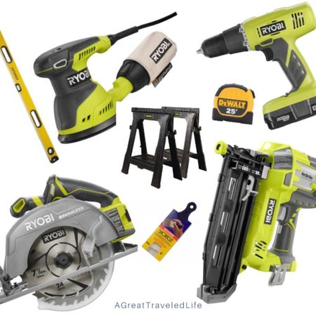 These are the Unltimate Beginners Power Tools for the novice DIY'er. #StayHomeWithLTK #LTKhome #LTKfit @liketoknow.it.family @liketoknow.it.home Shop your screenshot of this pic with the LIKEtoKNOW.it shopping app http://liketk.it/2NW6I #liketkit @liketoknow.it