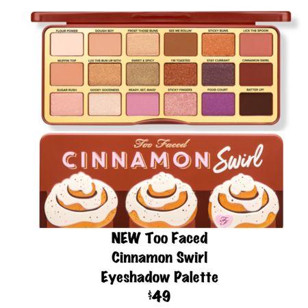 New Too Faced Cinnamon Swirl Palette ❤️!  #LTKunder50 #LTKSeasonal #LTKbeauty