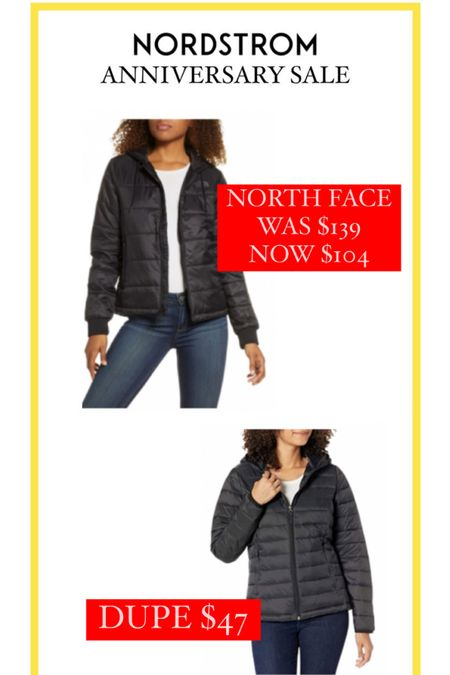 Nordstrom Anniversary Sale // This North Face jacket dupe is so perfect for winter and UNDER $50! http://liketk.it/3jTTM #liketkit @liketoknow.it #LTKstyletip #LTKsalealert #LTKunder50