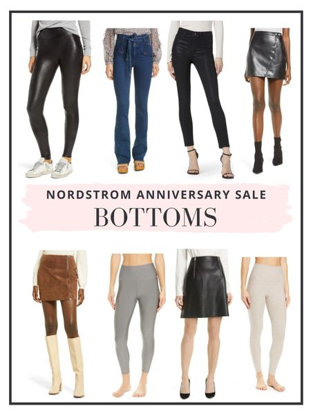 The Nordstrom Anniversary Sale is now open to everyone! Here are our top picks for bottoms   #LTKunder100 #LTKsalealert