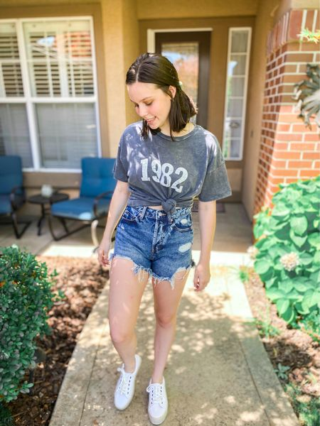 Wild fable target outfit! Size up in the shorts, everything else is true to size💓 #targetpartner #targetstyle #target #summeroutfits #shorts #sneakers #wildfable   #LTKunder50 #LTKstyletip #LTKshoecrush