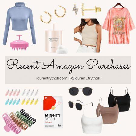 Amazon favorites, amazon fashion, amazon purchases, recent amazon finds  #LTKunder50 #LTKstyletip #LTKSeasonal