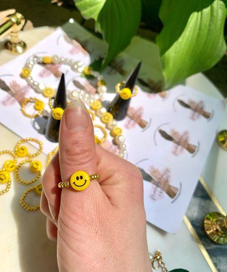 Fun summer Tik toK rings  Beaded rings   #LTKstyletip #LTKunder50 #LTKkids