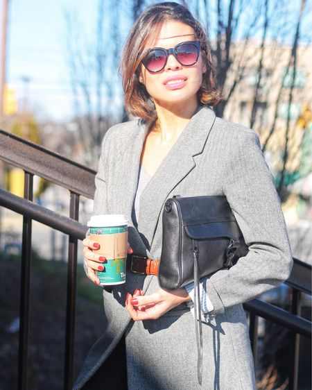  𝐂𝐨𝐟𝐟𝐞𝐞 & 𝐁𝐥𝐚𝐳𝐞𝐫𝐬  • Apparently, the only way to survive as a #businesswoman is by running on coffee & #blazers  • A blazer is a great layering piece that has the power to transform even the most casual look.  This herringbone one I am wearing is from @target I have linked similar ones and other favorites. Download the LIKEtoKNOW.it shopping app to shop this pic via screenshot http://liketk.it/2YHqh #liketkit @liketoknow.it #LTKstyletip #LTKworkwear