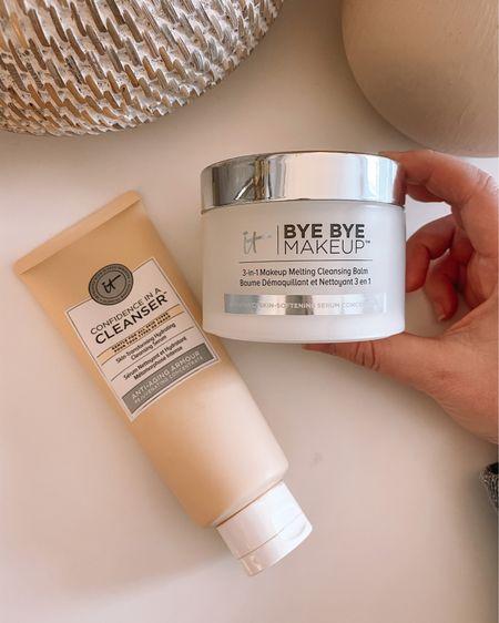 Itcosmetics makeup melt balm and cleanser. My favorite duo! | http://liketk.it/35uyE @liketoknow.it #liketkit   Danielle Gervino TikTok, makeup remover, anti-aging