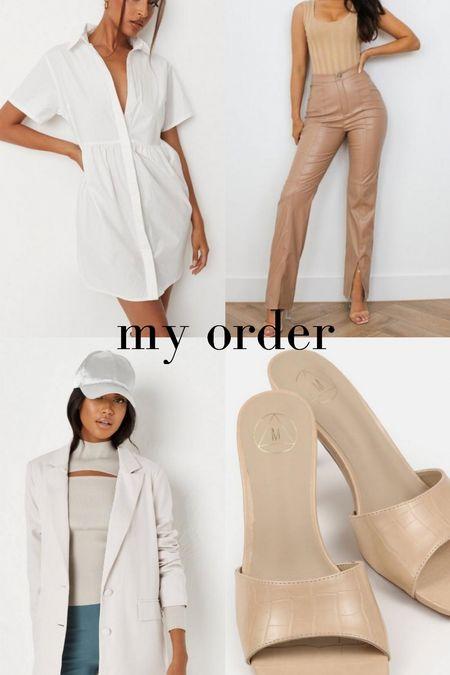 my missguided order 🤍   #LTKunder100 #LTKunder50 #LTKSale