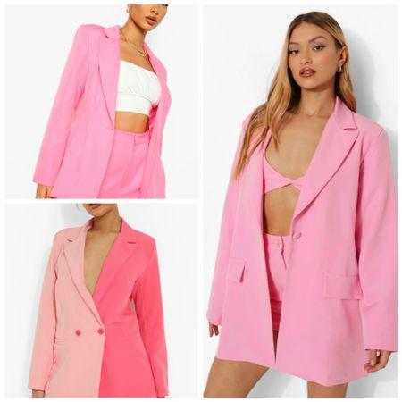 Pink blazers   #LTKstyletip #LTKworkwear #LTKsalealert