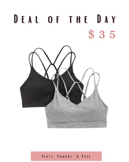 I can't get enough sports bras! How cute is this set from Old Navy?  #LTKfit #LTKstyletip #LTKunder50