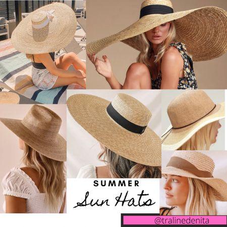 Summer Hats!!! #summertime #summerhats http://liketk.it/3iFVs #liketkit #LTKstyletip #LTKunder50 #LTKunder100 @liketoknow.it