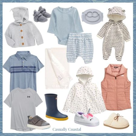 Just a few of my favorite Nordstrom Anniversary sale finds across baby & kids! A full blog post with my top picks for women, home and men can be found on casuallycoastal.com!   @liketoknow.it #liketkit #LTKsalealert #LTKkids #LTKbaby http://liketk.it/3jOVM  nordstrom anniversary sale, nsale, baby clothing, baby clothing girl, baby clothing boy, baby essentials, baby clothing sale, baby sweaters, baby bunting, cozy baby clothes, baby hooded cardigan, baby cardigan, knit baby sweater, knit baby cardigan, feeding baby, toddler feeding, feeding mat, toddler utensils,  toddler girl, toddler boy, baby booties, toddler booties, little giraffe, little giraffe blanket, little giraffe luxe, baby blanket, soft baby blanket, cozy baby blanket, cream baby blanket, stroller blanket, boys polos, vineyard vines polos, boys vineyard vines, kids ugg sneakers, kids hunter boots, boys under armour, unicorn slippers, girls slippers, toddler slippers, girls north face, girls vest, pink girls vest