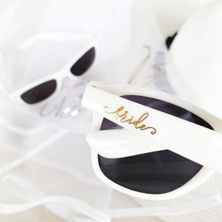 Bride sunnies by ModParty 🕶  @liketoknow.it #liketkit http://liketk.it/3huFd #LTKwedding #LTKsalealert #LTKstyletip